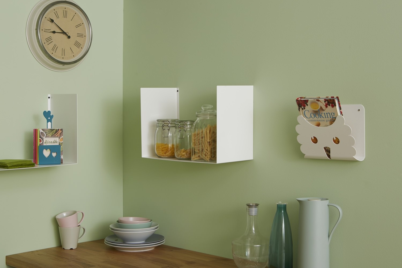 Portaoggetti Da Parete Per Cucina portariviste da parete in metallo gufo | mipiacemolto