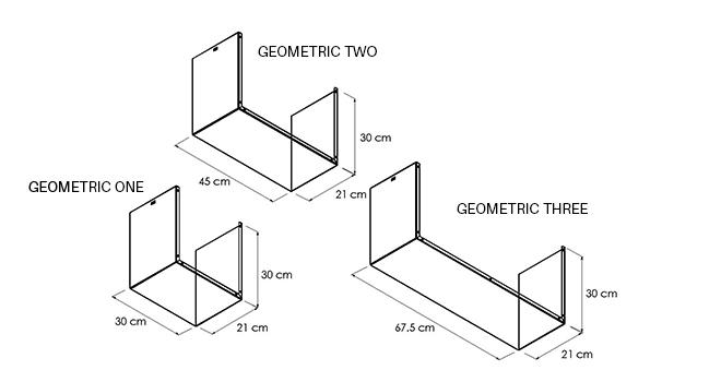 MENSOLA-GEOMETRIC_disegno-tecnico | Mipiacemolto