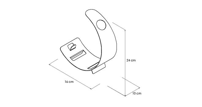 PORTABOTTIGLIE-MOON_disegno-tecnico | Mipiacemolto