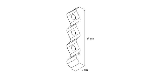 PORTABOTTIGLIE-ZIG-ZAG disegno-tecnico | Mipiacemolto