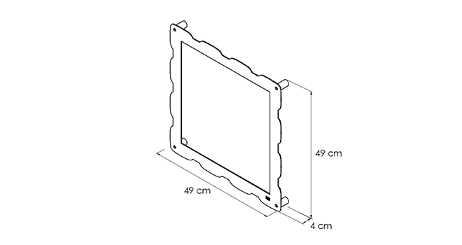 PORTAOGGETTI-GLAM-_disegno-tecnico | Mipiacemolto