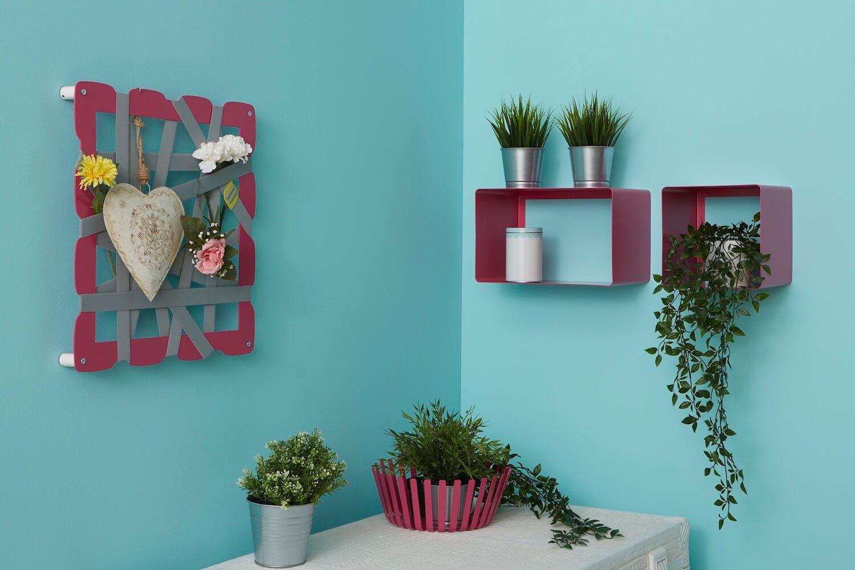 Portaoggetti da parete glam dal design moderno riordina con stile mipiacemolto - Portaoggetti da parete ikea ...