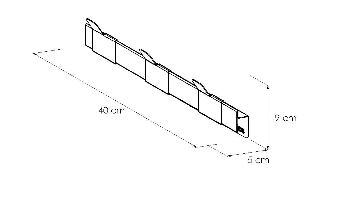 Disegno tecnici Appendiabiti Thumb