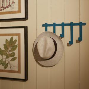 Appendiabiti a muro design con cappello tipo Borsalino | Mipiacemolto