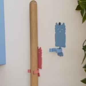 Dettaglio appendiscope da parete | Mipiacemolto