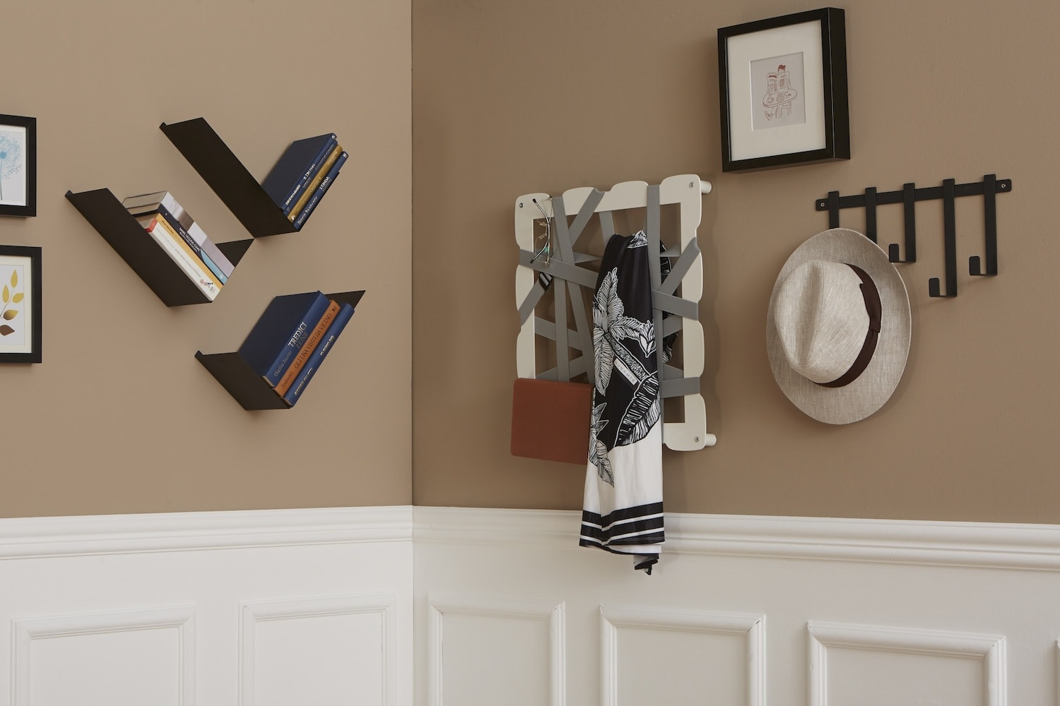 Appendiabiti Da Muro Originali notes wall-mounted coat rack | mipiacemolto