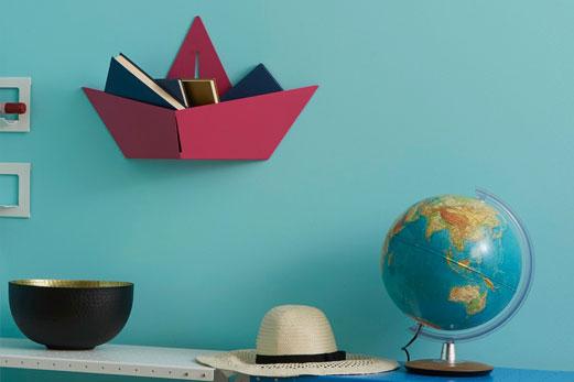 portaoggetti boat Complementi d'arredo pop per una casa dal look ironico