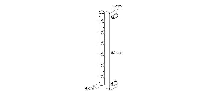 PORTABOTTIGLIE-TOTEM_disegno-tecnico | Mipiacemolto