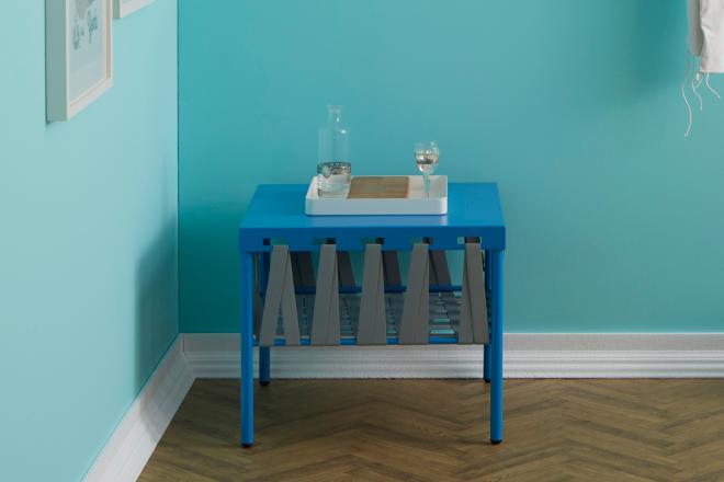 Dettaglio-tavolino-originale-GLAM-con-vassoio-design-bianco   Mipiacemolto
